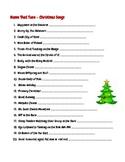 Name that Tune - Christmas Songs