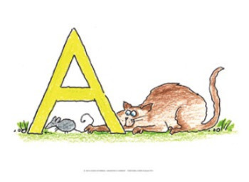 "Name the Alpha-Cats ♥ BUNDLE ♥ 8.5"" x 11"""