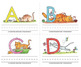 """Name the Alpha-Cats in Color - 4.25"""" x 5.5"""" ♥ BUNDLE♥"""