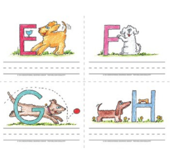 "Name the Alpha-Dogs ♥ BUNDLE ♥ 4.25"" x 5.5"""