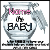Name the Baby! Maternity Fun!