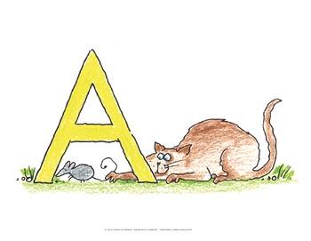 "Name the Alpha-Cats BUNDLE - 8.5"" x 11"""