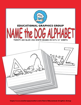 """Name the Alpha-Dogs in Black/White - 8.5"""" x 11"""""""