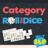 Category Speech Therapy Roll-the-Dice Games