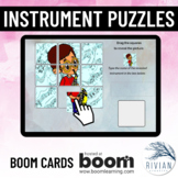 Name the Instrument Puzzles Boom Cards™