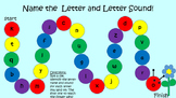 Name the Lowercase letter and Letter Sound Game!