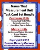 Name the Measurement Unit Center