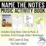 Name the Notes: Sing Along, Coloring & Activity Book
