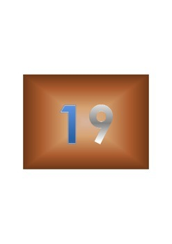 Name the Number 1-20