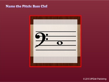 Name the Pitch: Bass Clef