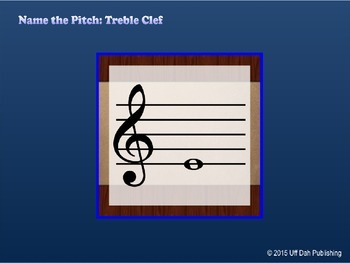 Name the Pitch: Treble Clef