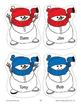 Name the Snowman