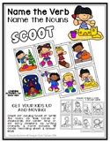 Name the VERB & Name the NOUNS * SCOOT* Task Cards