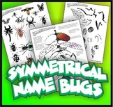 Namebugs Art Project - Customized Insect Drawings