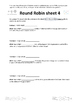 Named Gas Laws Round Robin Activity