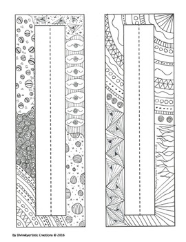 Nameplates - 14 Unique Designs - Hand drawn DOODLES!