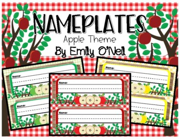 Nameplates (Apple Theme)