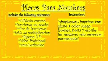 Nameplates-Bilingual