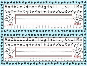 Nameplates - Disney Theme