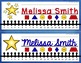 Nameplates EDITABLE - Space / Soaring to Success Decor
