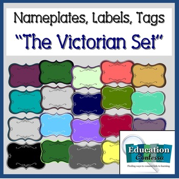 Nameplates, Labels, Tags: The Victorian Set