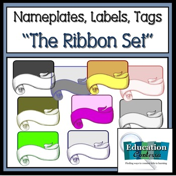Nameplates, Labels, Tags: The Ribbon Set