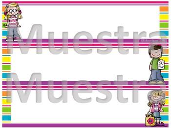 Nameplates (Melonheadz)