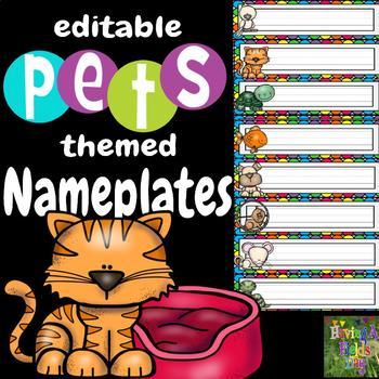 Nameplates- Pets