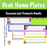 Desk Name Tags Seasonal and Thematic Multi-pack