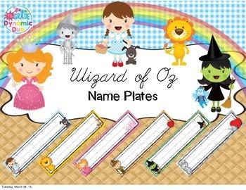 Nameplates - Oz Theme