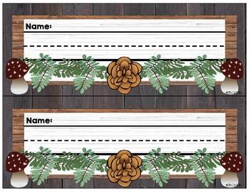 Nameplates (Woodland Theme)