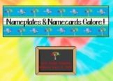 Nameplates and Namecards Galore!