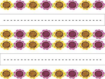 Nameplates/Nametags - Megabundle (Chevron, Swirl, Flowers)