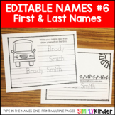 Names 6 - First and Last Name Fun