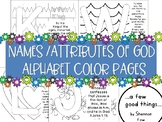 Names/ Attributes of God Alphabet Color Pages