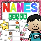 Names Board - Programmable Nameplates with Icons (Polka Dots)