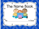 Names Class Book for Back to School