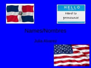 Names Nombres