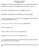 """Names Nombres"" by Julia Alvarez - 10 Comprehension Questions with Key"