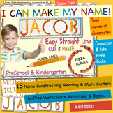 Name Activities: Discriminating and Constructing Letters