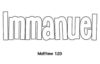 Names of God Art Project Template (Lines, Patterns, Christian Studies and Bible)