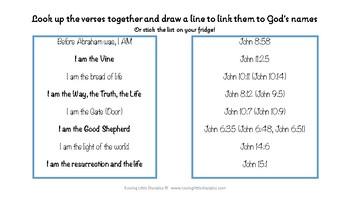 Names of God - Spinning Wheel