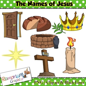 Names of Jesus Clip art