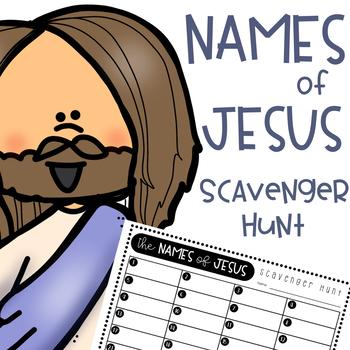 Names of Jesus Scavenger Hunt