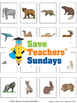 Names of animals (mammals, birds, fish, rept. and amph.) lesson plan and cards