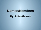 Names/Nombres Introduction PowerPoint