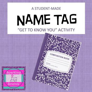 Nametag Activity:  A Get-to-Know You Assignment