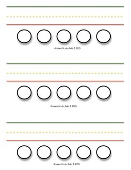 Name/word Tracing Template