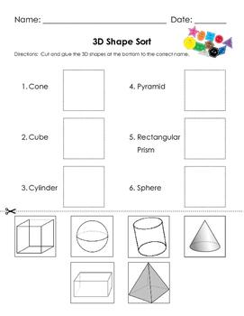 Naming 3D Shapes