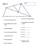 Naming Angles Practice